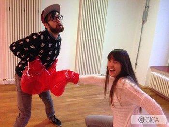 @Follow_the_G Beste Smash-Pose? Auf jeden Fall das beste Smash-Gesicht, Anne! #SSB http://t.co/AsERm9sDni
