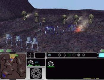 Star Wars. Force Commander (2000)
