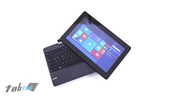 Asus-Transoformer-Book-T100TA-Tablet-auf-Tastatur-Dock
