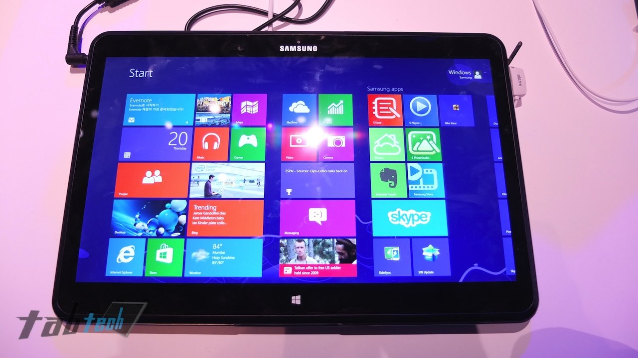 Samsung ATIV Q in unserem Hands-On Video