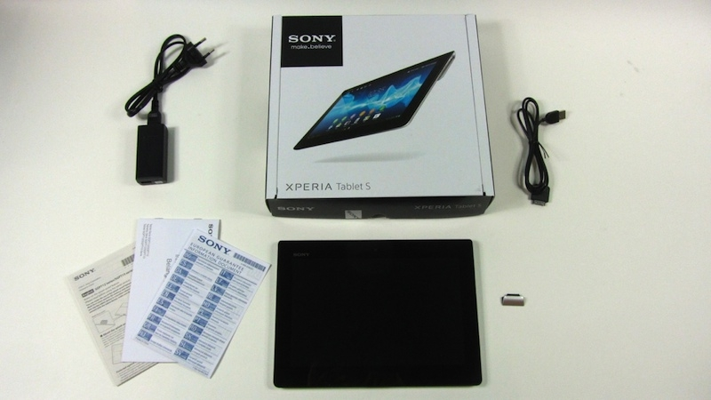 Sony Xperia Tablet S Test - Das kompakte Multimedia-Tablet