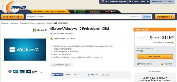 newegg-windows-10-pro