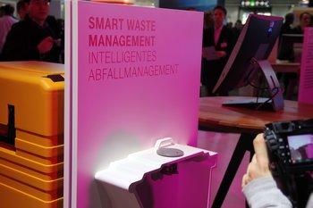 Die intelligente Mülltonne