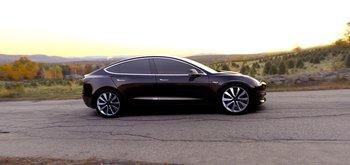 Tesla Model 3 (Quelle: Tesla)