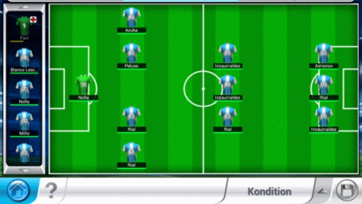 Top Eleven Taktik
