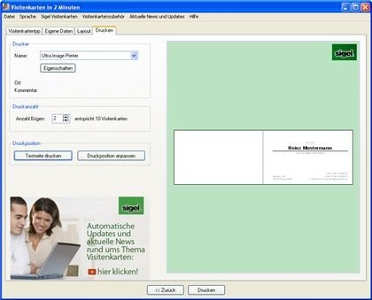 Visitenkarten in 2 minuten download kostenlos giga - Visitenkarten freeware ...