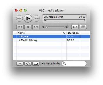 VLC Media Player fuer Mac Musik