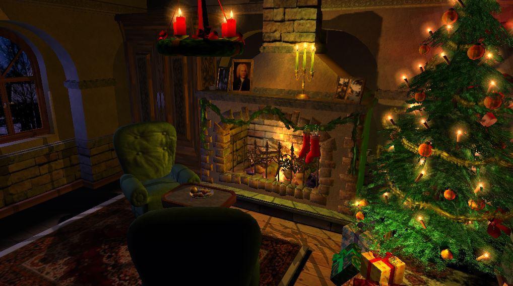 Weihnachtskamin 3D Bildschirmschoner Demo Download kostenlos - GIGA