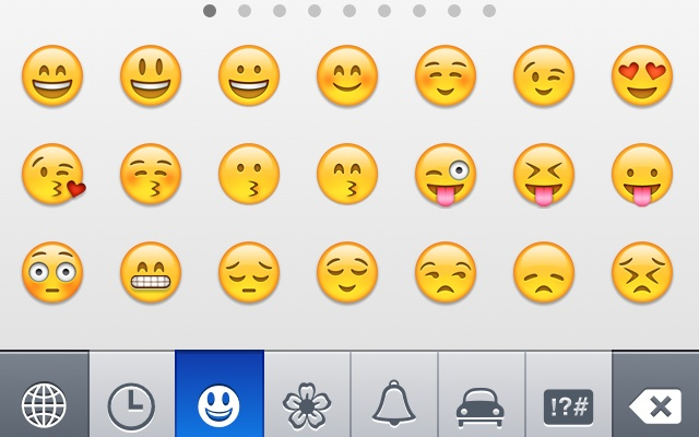 snapchat- smileys Whatsapp Emoticons