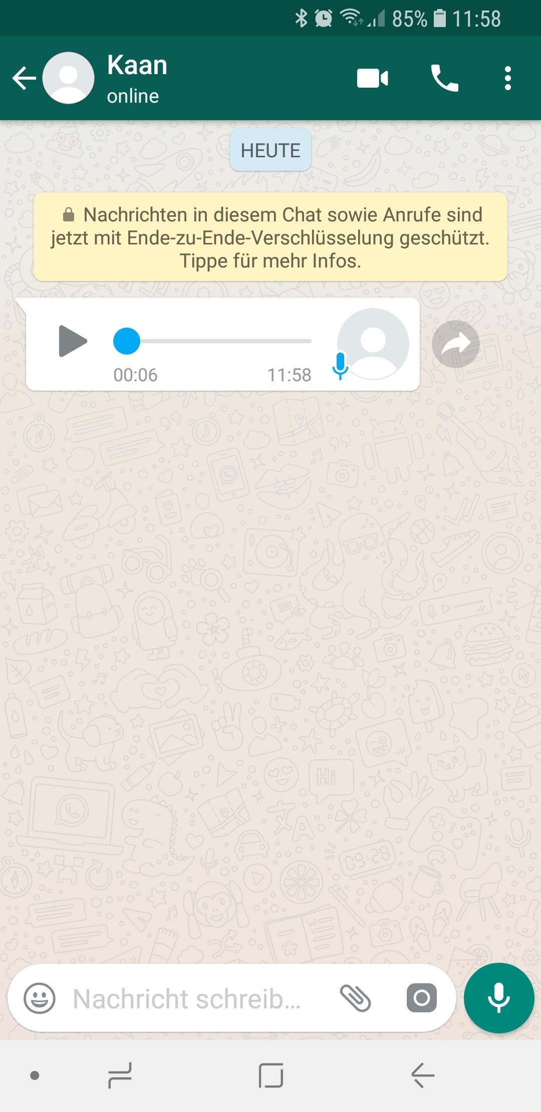 Sprachnachricht Whatsapp