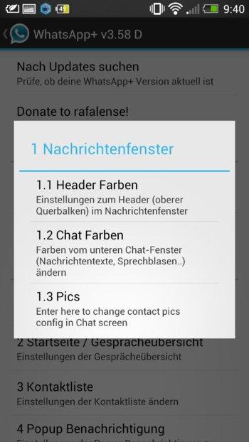 WhatsApp+ hat unzählige Anpassungsmöglichkeiten