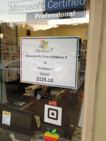 Windows 8 Downgrade
