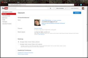 2. YouTube-Namen ändern