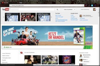 1. YouTube-Namen ändern