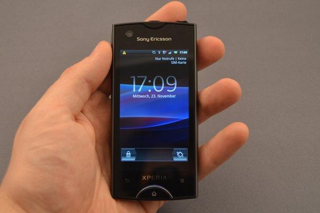 Sony Ericsson Xperia ray: Test zum Smartphone-Winzling