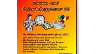 Termin- und Geburtstagsplaner (Excel)