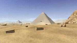 Pyramiden 3D Bildschirmschoner