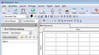Nvu - HTML-Editor Download