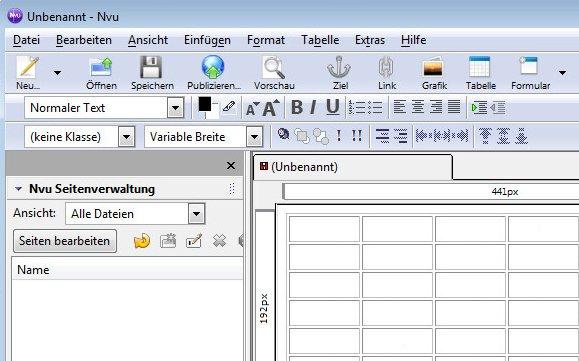Nvu-HTML-Editor