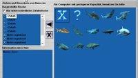 Aquarium Haie Bildschirmschoner