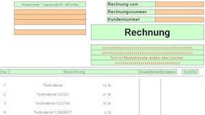 Rechnungsprogramm mit Kundenverwaltung