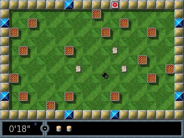 Die Enigma-Kugel muss die blauen Steine am Rand aktivieren.