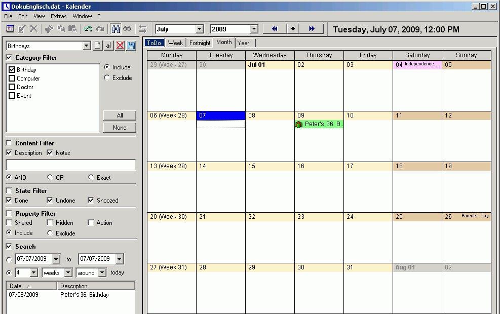 UKs-Kalender