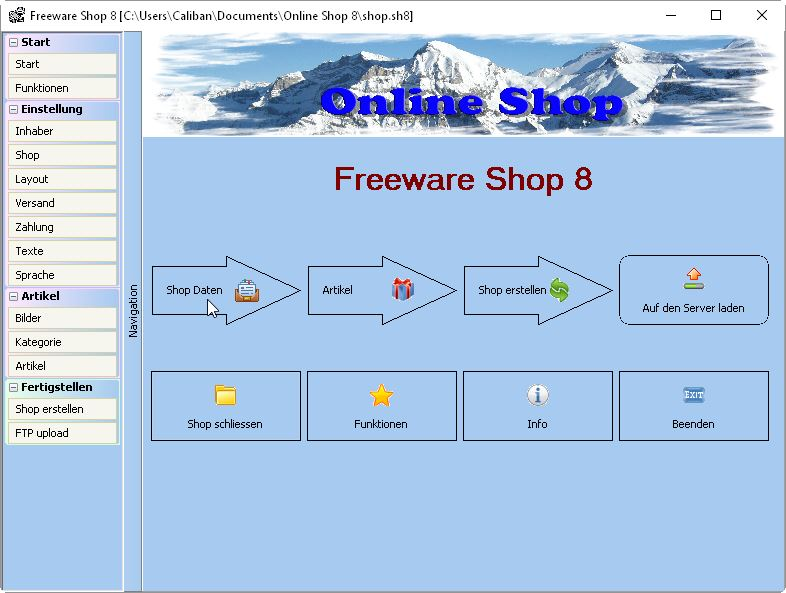 Freeware Online Shop Download Kostenlos