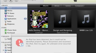 Probleme: iTunes 8 und Pwnage Tool