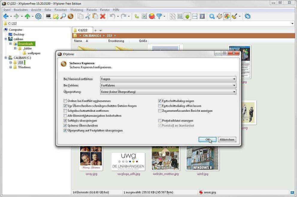 xyplorer free sicher kopieren