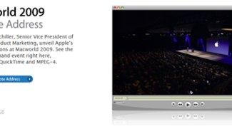 MacWorld 09: Offizielles Video der Keynote *Update*