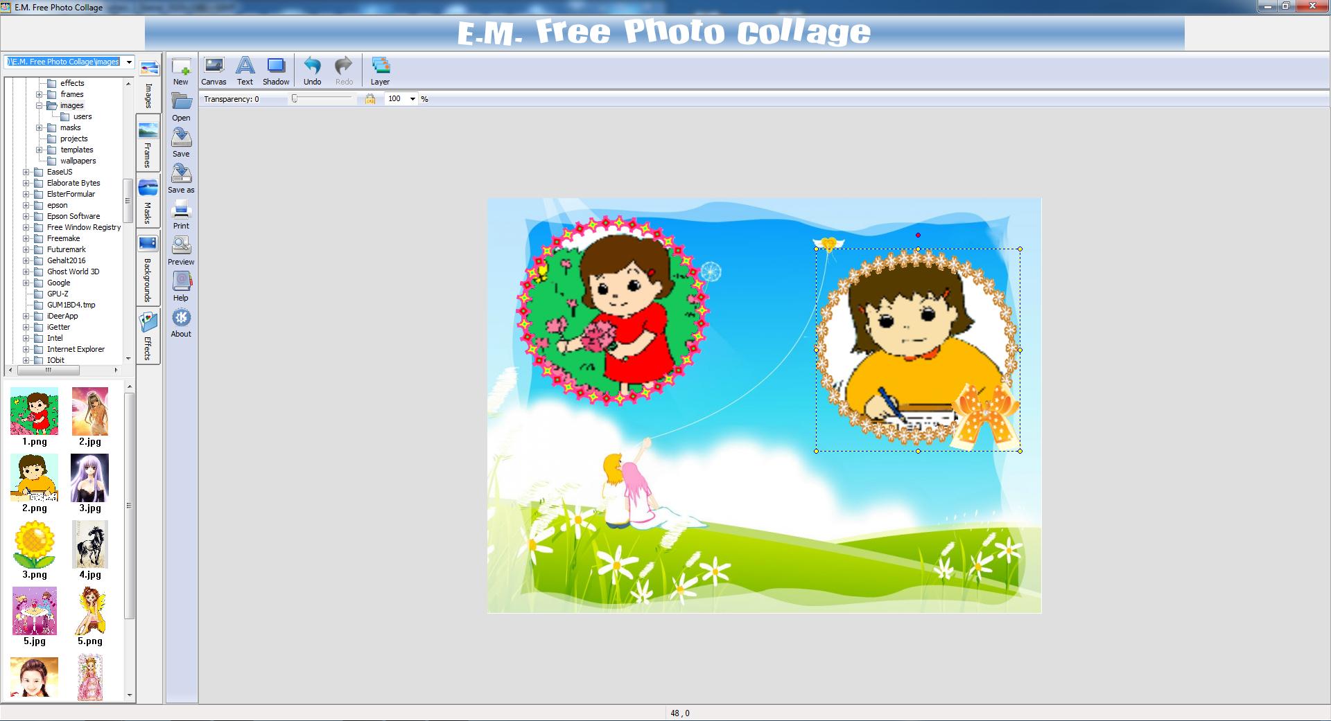 E.M. Free Photo Collage Download kostenlos - GIGA