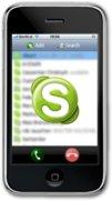 Skype: iPhone Applikation nächste Woche