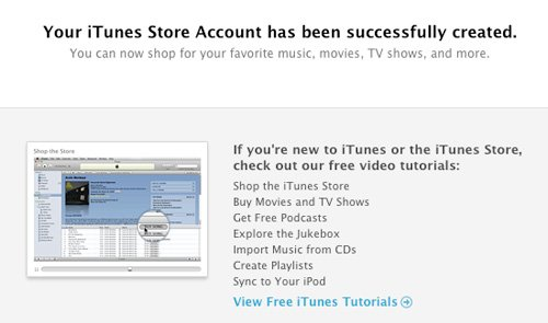 iTunes Success