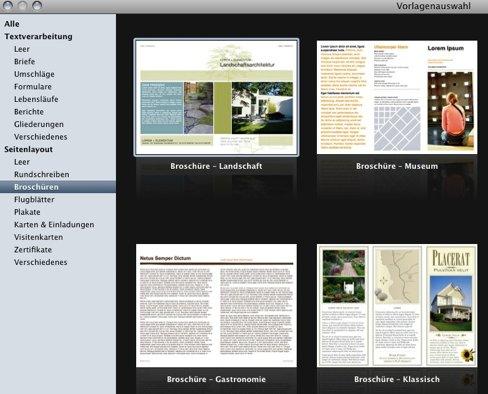 mac flyer erstellen mit pages so geht s giga. Black Bedroom Furniture Sets. Home Design Ideas