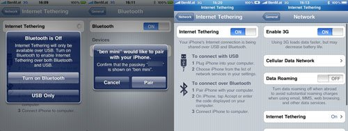 Firmware 3.0 Tethering