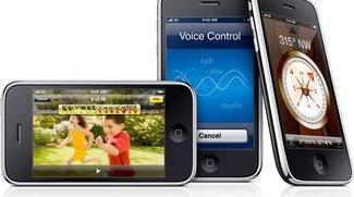 iPhone 3GS: 600 MHz CPU, 256 Ram