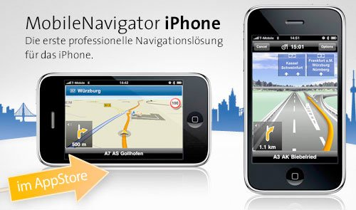 Navigon und T-Mobile: Gratis Navi-Software