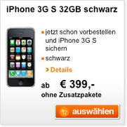 Orange Austria: iPhone 3GS ab EUR 69,-
