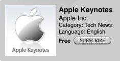 WWDC09: Keynote als Podcast verfügbar