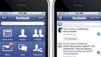 AppStore: Facebook App 3.0 eingereicht