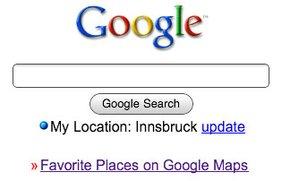 Google Mobile: Mit GPS Lokalisierung