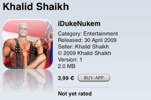 iDukeNukem: Al-Qaida im AppStore?