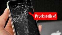 "Gelöstes Rätsel: ""Zersprungene"" iPhone Screens"