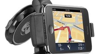 TomTom und Navigon iPhone-Halterungen