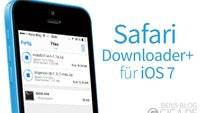 Safari Downloader+: Download Manager für den Mobile Safari [Cydia]