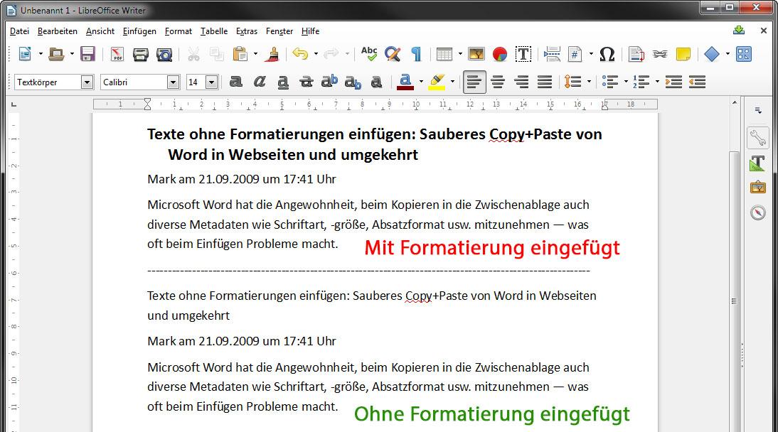 Texte Ohne Formatierung Kopieren Einfügen So Gehts In Word