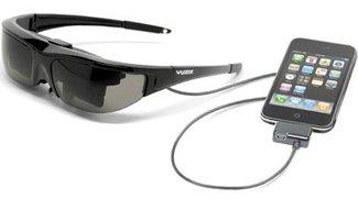 Vuzix: Video Brillen für iPhone &amp&#x3B; iPod