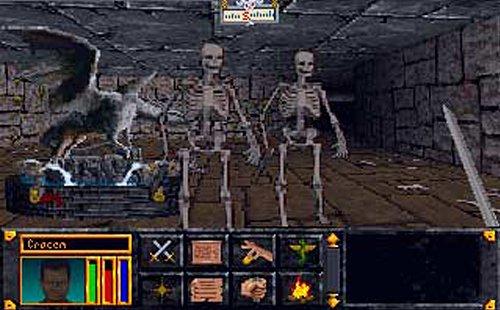 The Elder Scrolls - Arena: Sind bereits die ersten Ratten gefährliche Gegner, sollten nur wahre Helden diesen Skeletten gegenübertreten