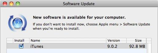 Updates: iTunes 9.0.2 und AppleTV Firmware 3.0